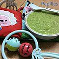 Purée courgette, fenouil et pomme de terre (4/6mois)