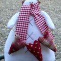 Bonhomme de neige Tilda