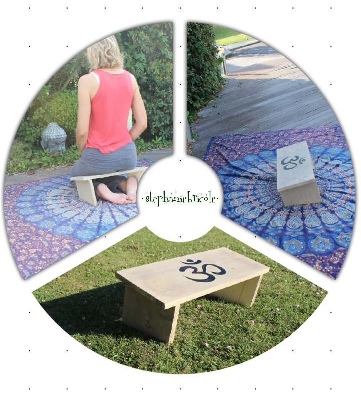 banc meditation à faire soi-même