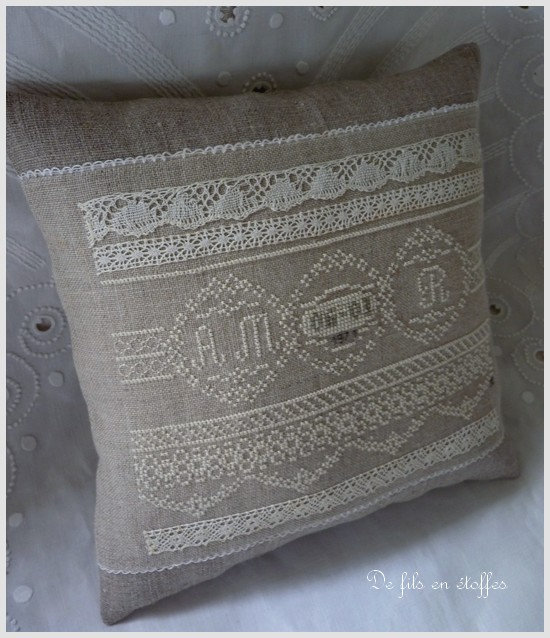 Coussin noces d'Or