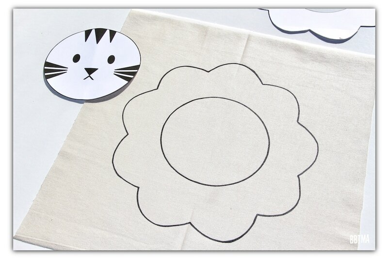 5 diy tuto coussin giotto feutre textile decor enfant dessin kids by bbtma le blog