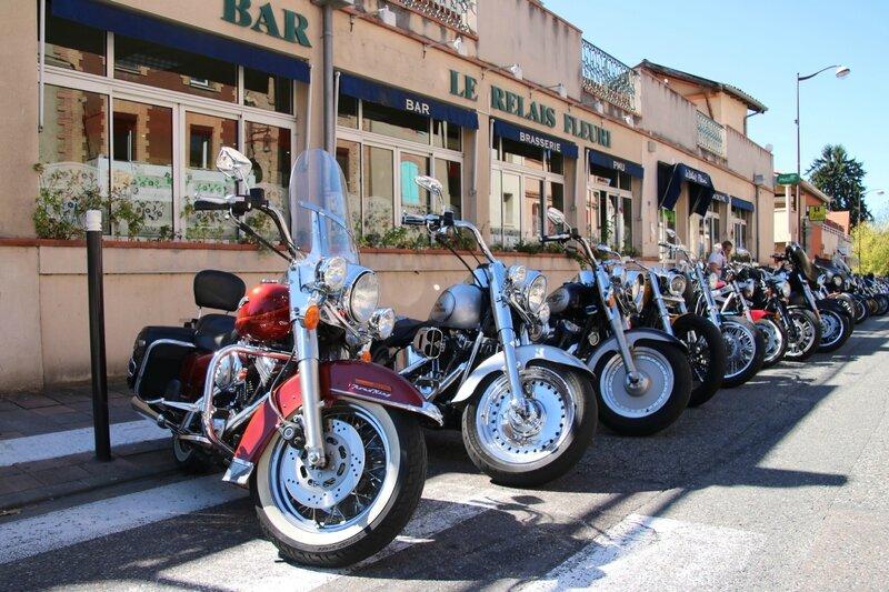 Harley Davidson lors du Tonnerre Mécanique à Saint-Sulpice sur Tarn