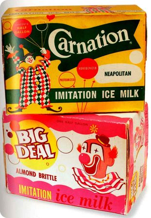 CARNATION_AND_BIG_DEAL_ICE_CREAM_BOXEX_1960_KRAZY_KIDS_FOOD_TASCHEN