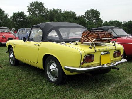 HONDA S 800 Convertible 1967 Retro meus Auto Lac de Madine 2010 2
