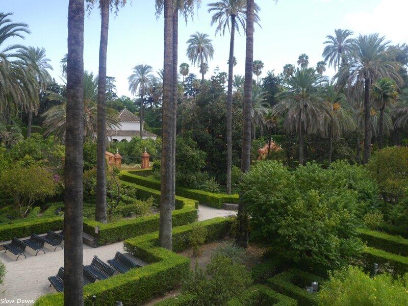 Real Alcazar jardins 2