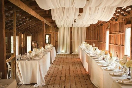 déco salle mariage champetre campagne chic