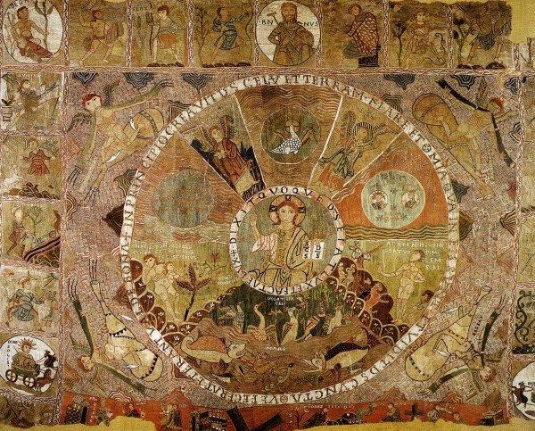 Tapisserie de la création, Gérone, Espagne, XIIe