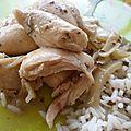 Poulet coco...coriandre