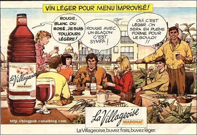 Vin De Table Des Années 60