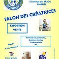 Salon des creatrices 11 aout 2019 biarritz