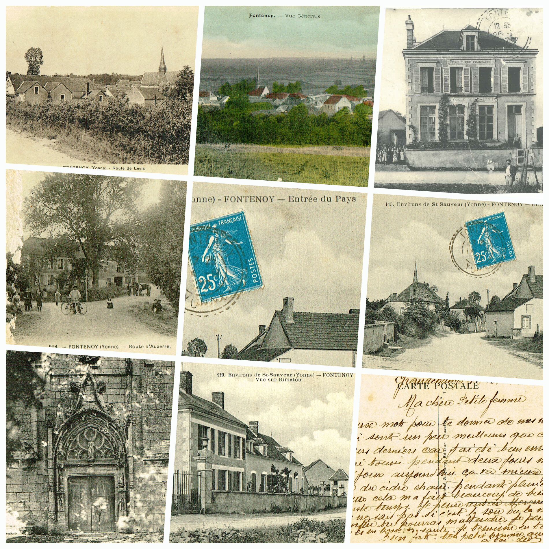 Vos cartes postales deviennent des trésors...Partagez les !