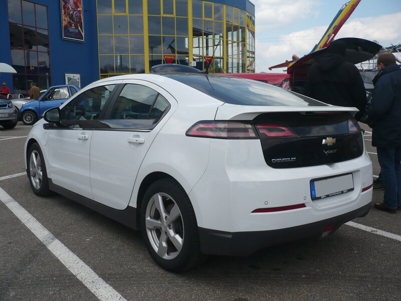 CHEVROLET Volt hybride rechargeable Sinsheim (2)