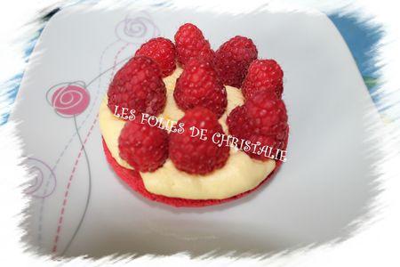 Macaron framboises 8