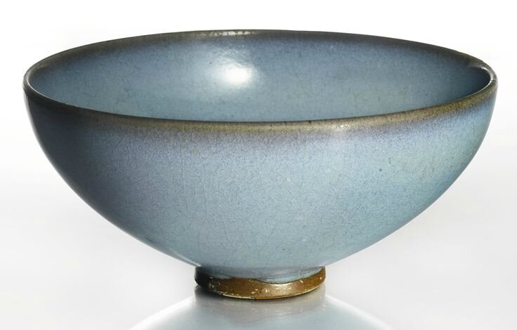 A lavender-blue 'Jun' bowl, Song dynasty