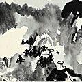 Zhang daqian (chang dai-chien) 1899-1983, memory of walensee, 1965