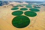 irrigation_en_carrousel__sur_pivot_central__des_champs_de_Wadi_Rum_en_Jordanie