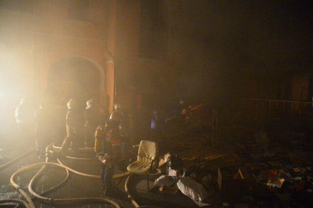 CC du PC Ukrainien incendié
