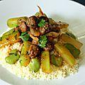 Couscous marocain aux boulettes