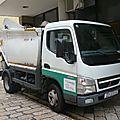 Mitsubishi fuso canter 5s13 benne à ordures ménagères