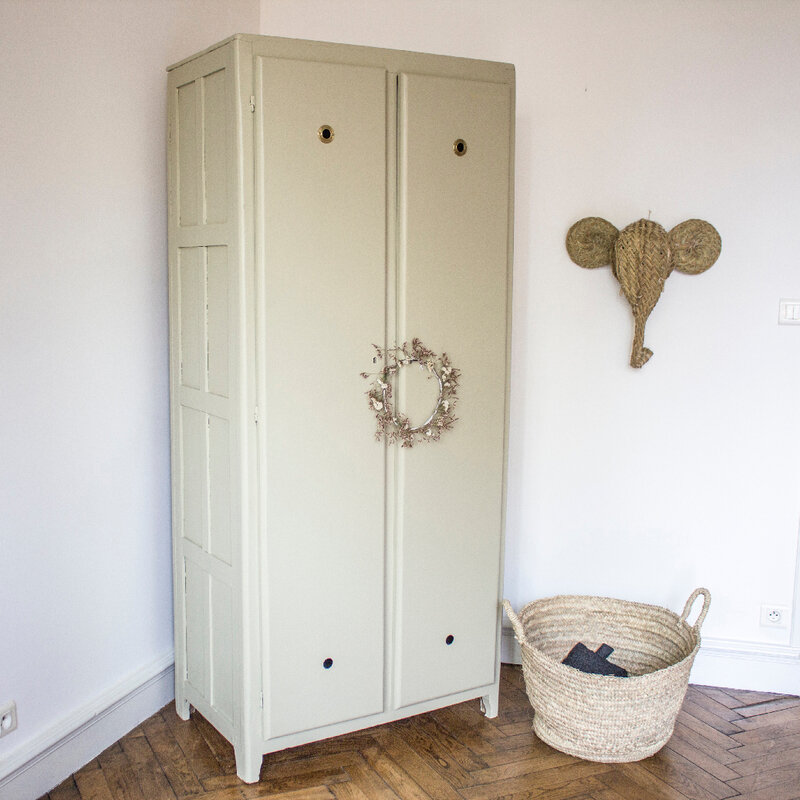 armoire vestiaire vintage TRENDY LITTLE