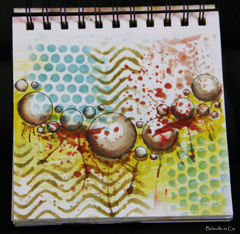 art journal gribouille 8