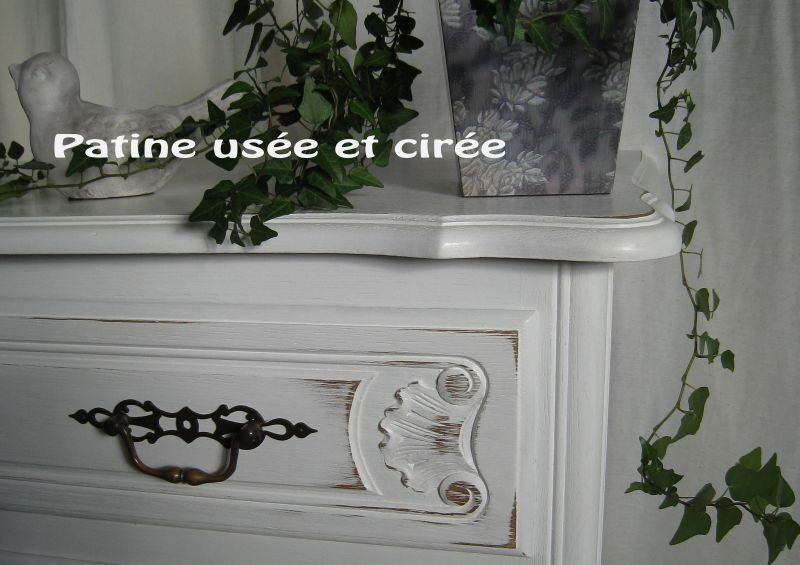 Commode Régence relookée