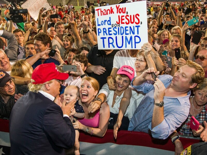 President Trump's supporters