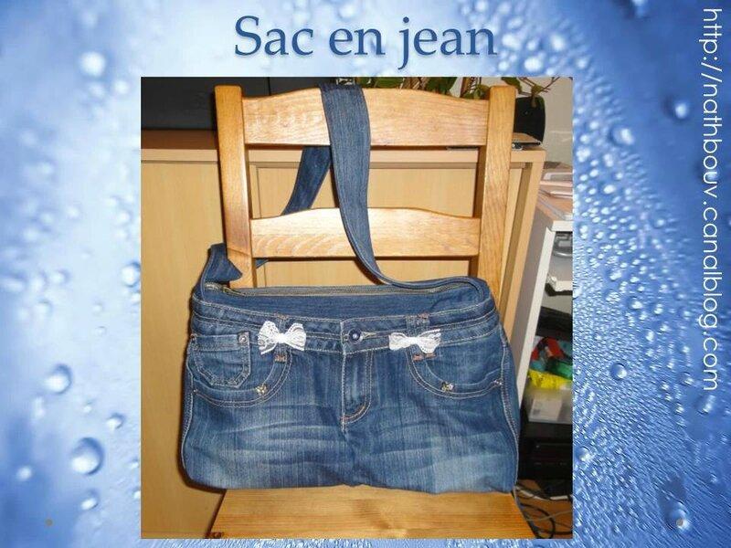 227 sac en jean