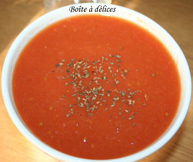 Soupe-tomate