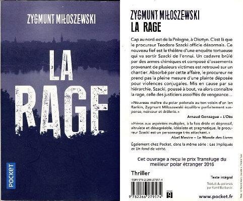 2 - La rage -Zygmunt Miloszewski