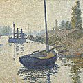 Van gogh museum purchases neo-impressionist painting by paul signac