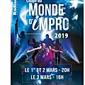 concours coupe du monde d'impro à lyon : 10 places à gagner pour la soirée du 1er mars 2019 au radiant (69) !