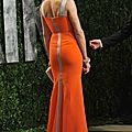 Cameron Diaz robe orange 110 2012
