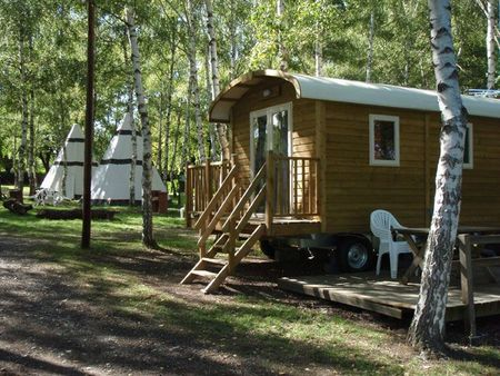 chatel camping roulotte