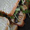 Croque-monsieur au foie gras