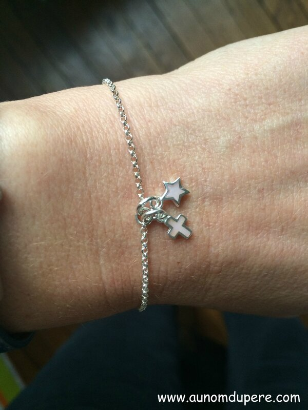 Bracelet Regarde l'Etoile (rose) - 37 €
