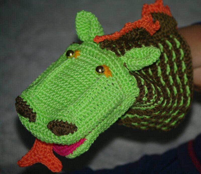 crocheter un dragon