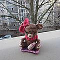 Test crochet - bébé ours...
