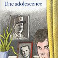 Une adolescence, fréderic mitterrand