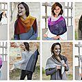 Un kit de laine katia pour votre prochain châle