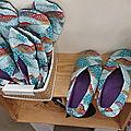 Chaussons japonais