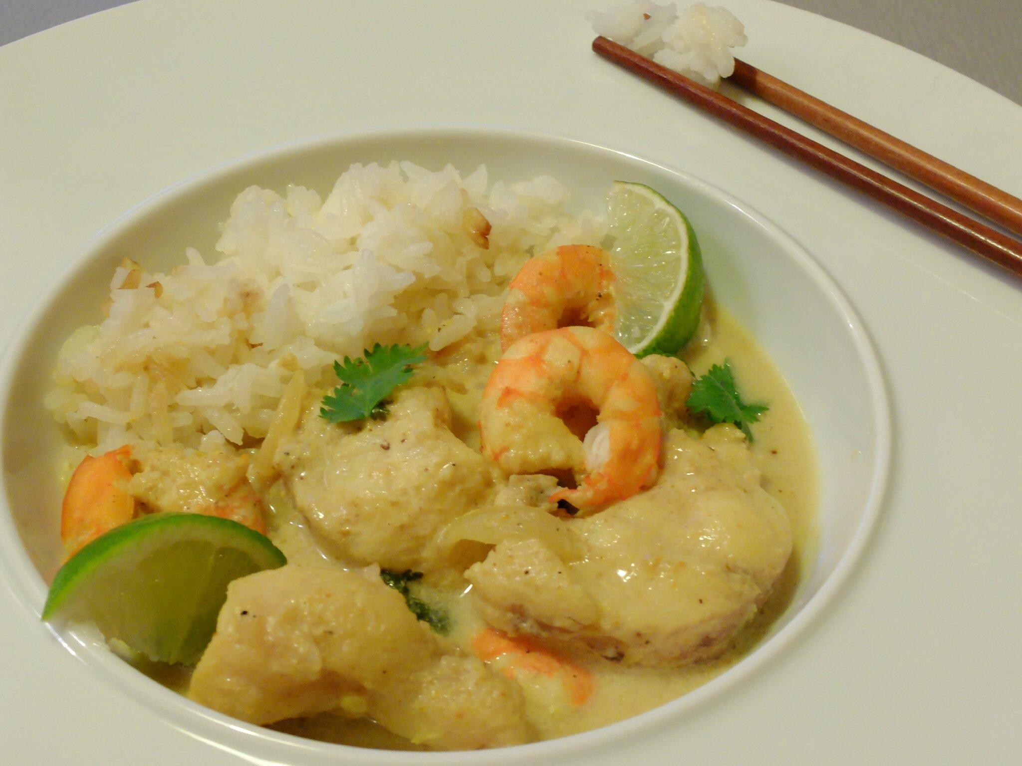 Curry De Lotte Au Lait De Coco Et Citron Vert Teatime Gourmand