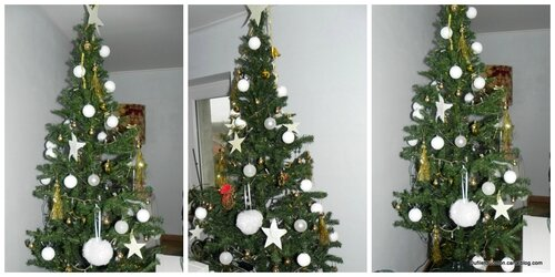 collage sapin