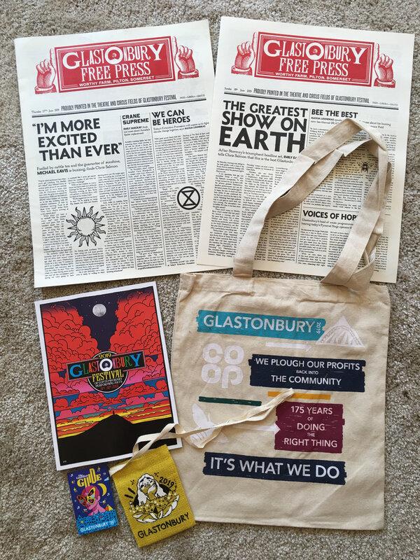 Glastonbury_festival_2019_jeu_concours_conquest_sac_programme_journal_bag_avranches infos