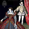 Le roi henri iii de france et son épouse louise de lorraine-vaudémont vers 1576