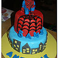 Birthday cake pour petit gars !
