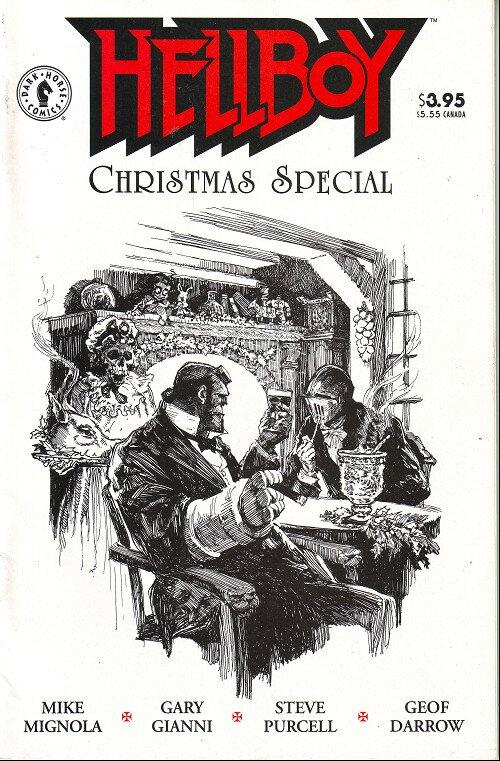 dark horse hellboy christmas special 1997