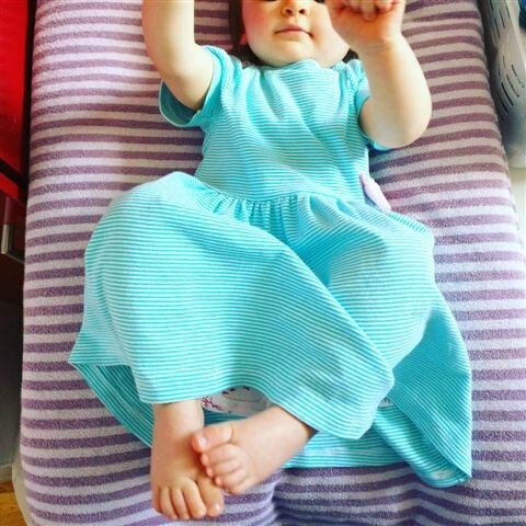 Baby outfit of the day ©Kid Friendly