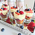 ➰💛🍓 tiramisu aux fruits rouges 🍓💛➰