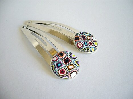 gipsy barrettes serties multicolores